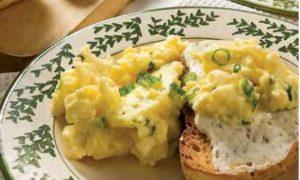 Scrambled Egg Bruschetta