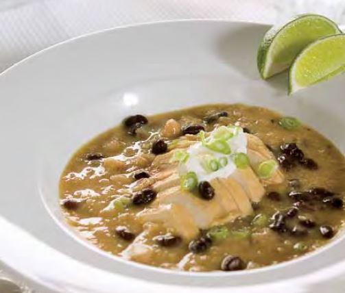 Recipe of White and black bean chicken chili